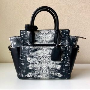 $1690 Reed Krakoff Atlantique in Black Snakeskin